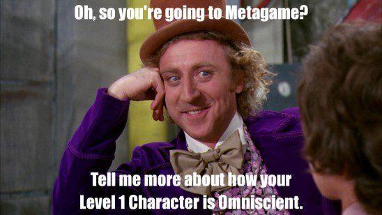 Metagaming Wonka