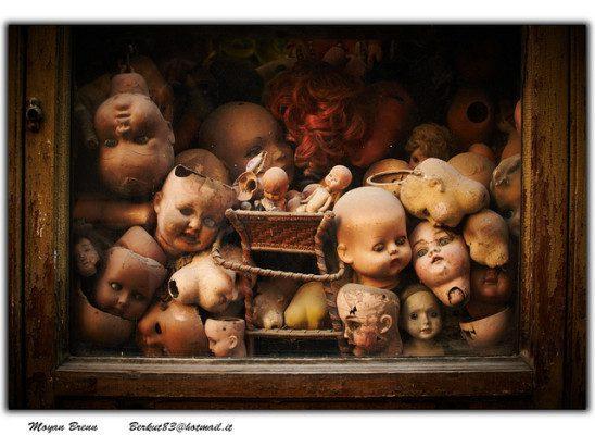 Scary Doll by Moyan Brenn
