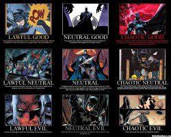 Alignments of Batman