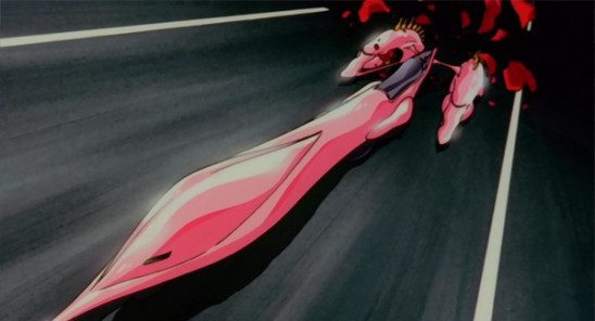 Utena turns into a car. It's metaphorical, it means... ?