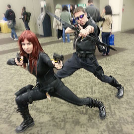 Black Widow and Hawkeye (movieverse)