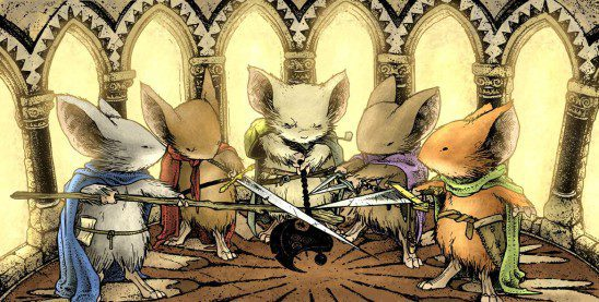 Image result for mouse guard rpg