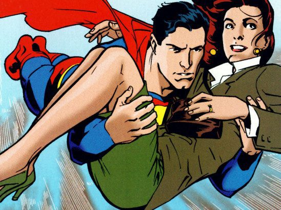 Superman and Lois Lane by Stuart Immonen