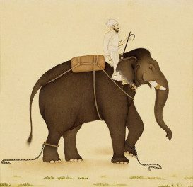 mahout-on-an-elephant