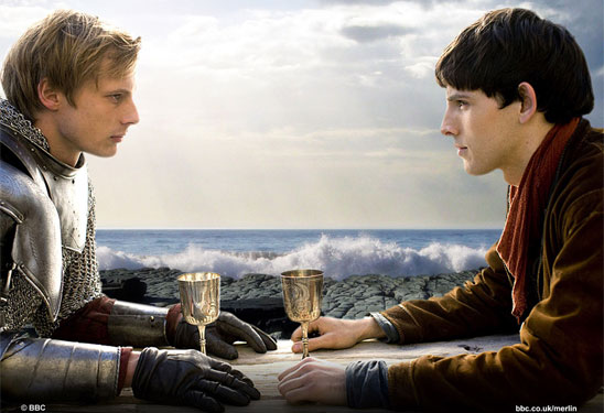 BBC's Merlin probably would have been canceled if not for its slashing fanbase.