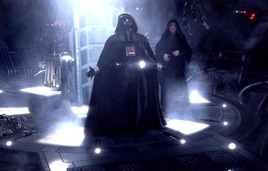 "No one can help laughing at the end of Revenge of the Sith, when Anakin/Vader cries ""Noooooooooooo!"""