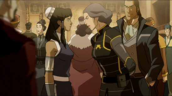 Korra and Lin
