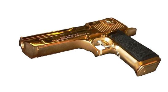 If Scaramanga had been using this, Bond would have been in trouble.