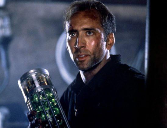 Nicolas Cage works under a deadline in The Rock