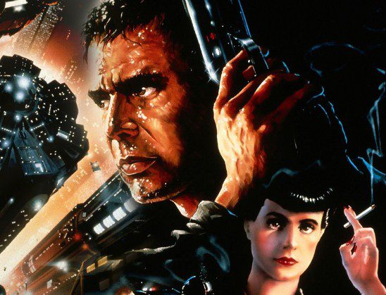 Blade Runner features some fancy tech, but it's still a dystopian setting.