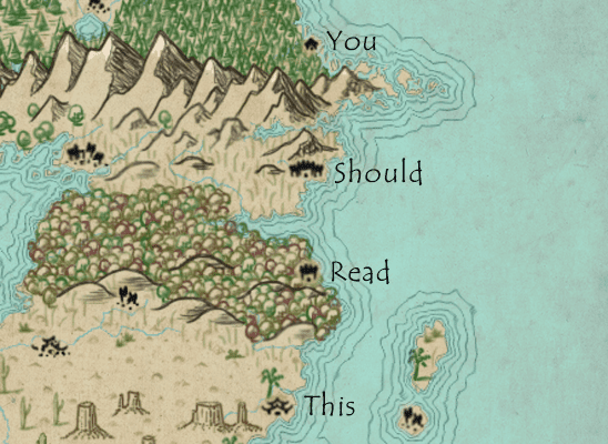 Crafting plausible maps mythcreants building a map for a fantasy setting involves a lot of details most of them fun art styles fonts and icons need to be chosen but some mapping concerns gumiabroncs Images