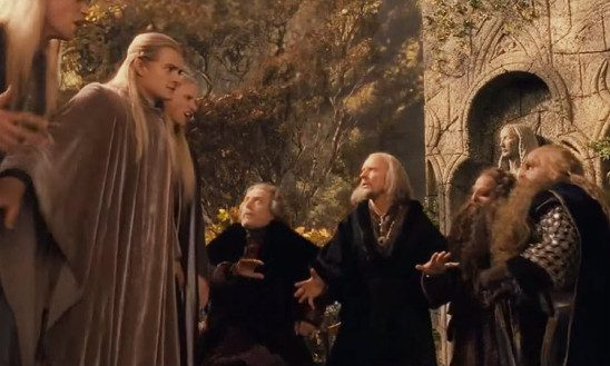 Argument at the Council of Elrond