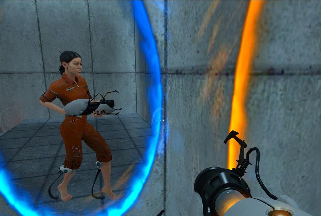 portal essay game