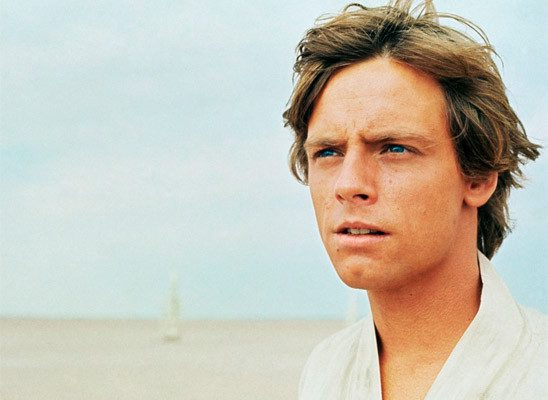 Luke Skywalker, the next-to-last hope of the Galaxy.