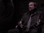Crowley from Supernatural, right before Sam and Dean start laying into him.