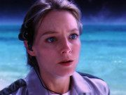 In Contact (1997), Dr. Arroway travels space and reaches a very personal destination.