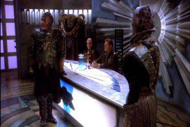 G'Kar making an argument before Babylon 5's Council
