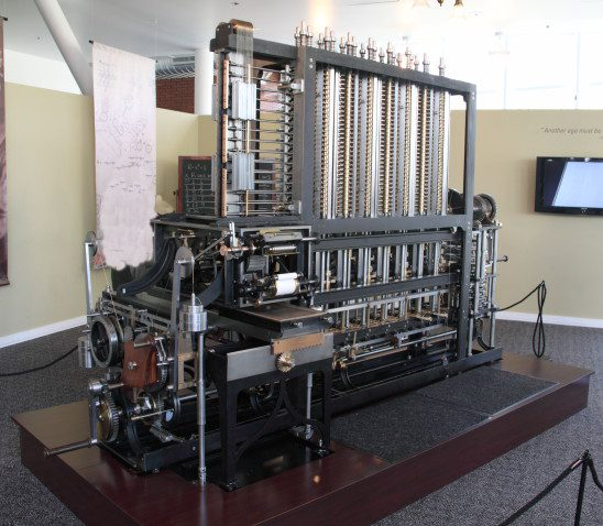 Computers history Marcin Wichary Difference Engine ... |The Difference Engine