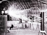 Tesla didn't invent electricity all on his own, you know.