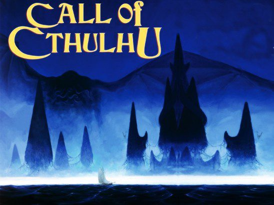 The Call of Cthulhu Role Playing Game does a good job of portraying man as insignificant next to the Elder Gods