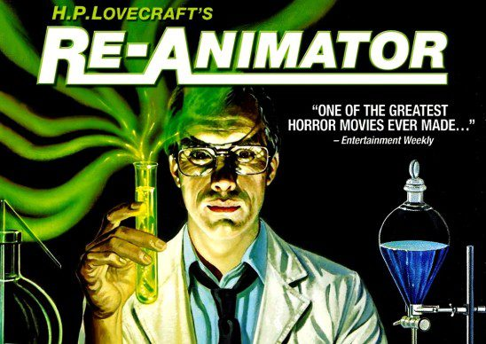 Re-Animator is one of the most famous movie adaptions of one of H.P. Lovecraft's stories.