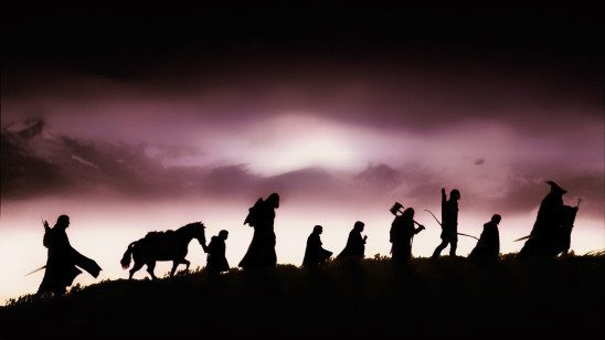 The Lord of the Rings features realistic overland travel.