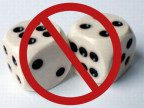 crossed-out dice