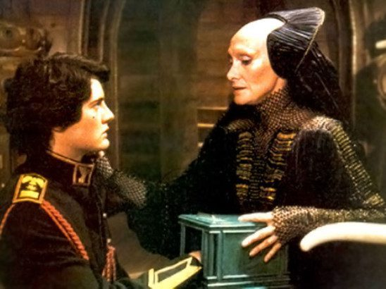 In Dune, a Reverend Mother of the Bene Gesserit tortures the main character.