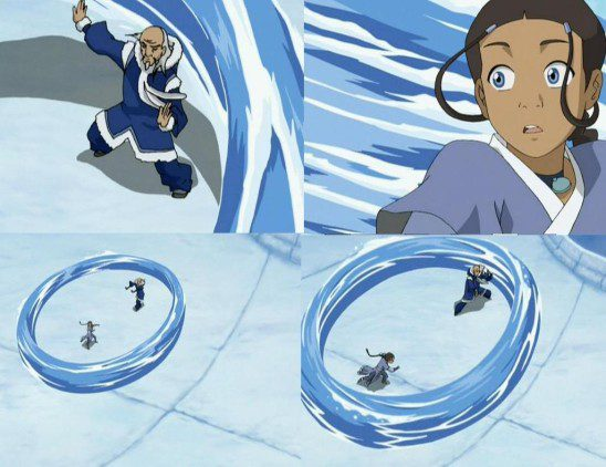 For example, the Water Tribe does this because it's awesome.