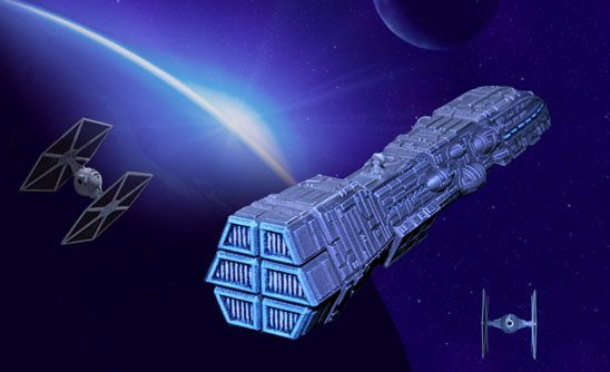Star wars space ships