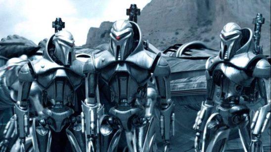 Cylons from Battlestar Galactica