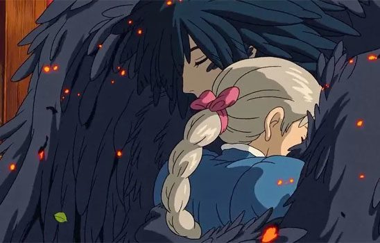 Sophie and Howl from Howl's Moving Castle