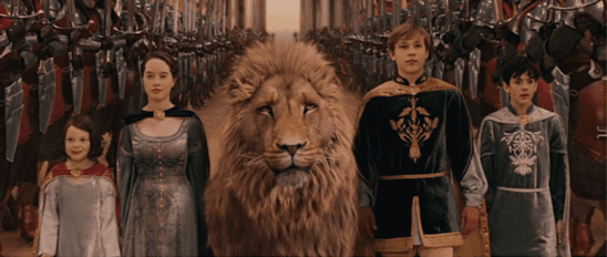 The characters from Narnia.