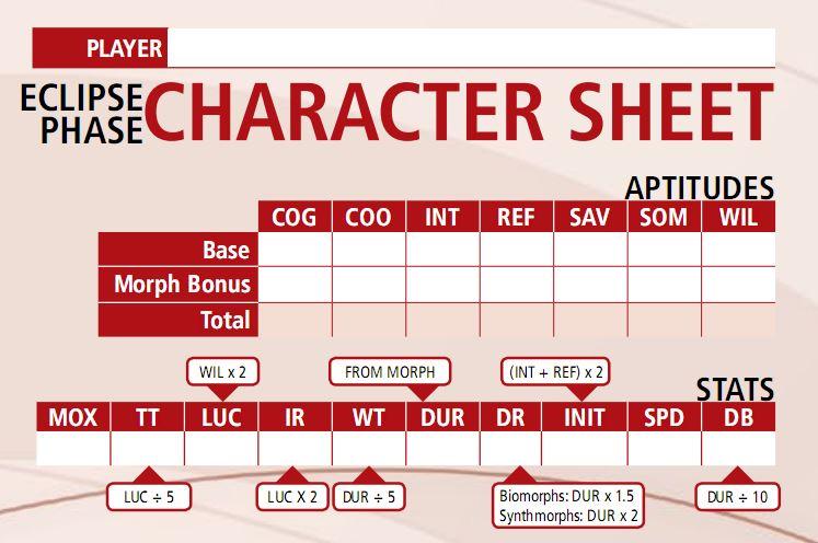 EP Character Sheet