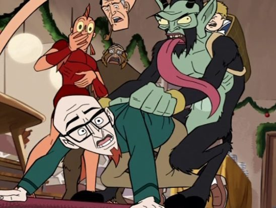 Krampus teaches Dr. Venture that sometimes the wicked are actually punished for their ways.