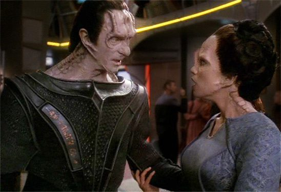 Gul Dukat and Ziyal
