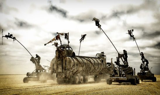 The War Rig and Polecats from Mad Max: Fury Road
