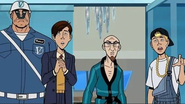 The Venture Brothers protagonist stares aghast at the camera..