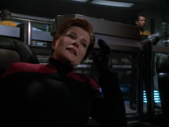 Janeway from Voyager.