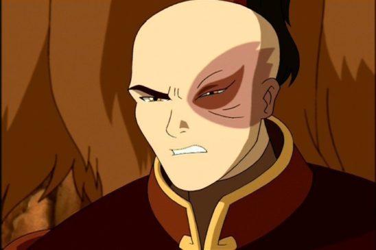 Zuko from Avatar.