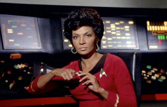 Star Trek made a difference by putting a black woman on the main cast.