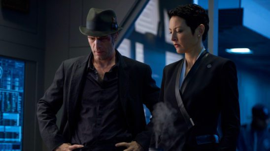 Miller and Shaddid from The Expanse