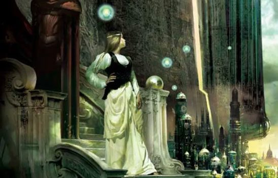 cover of Brandon Sanderson's Elantris