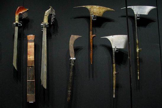 Tausug weapons