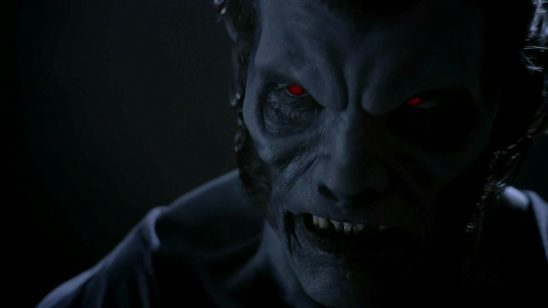 Deucalion from Teen Wolf, transformed into his monster shape.