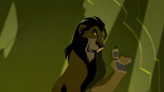 Scar from the Lion King.
