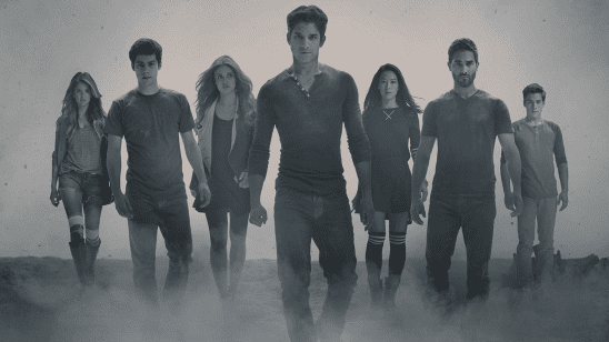 The cast from season 4 of Teen Wolf