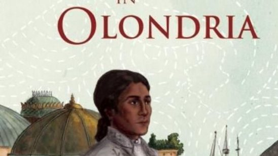 Cover art from Stranger in Olondria