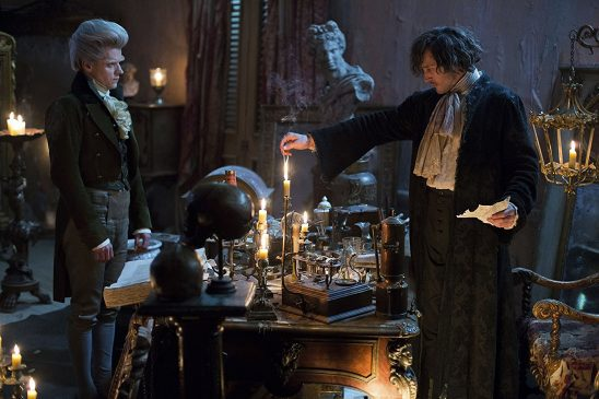 The Gentleman and Strange from Jonathan Strange and Mr. Norrell.
