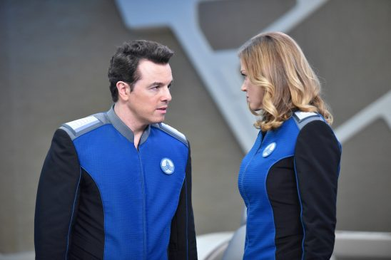 Mercer and Grayson from the Orville